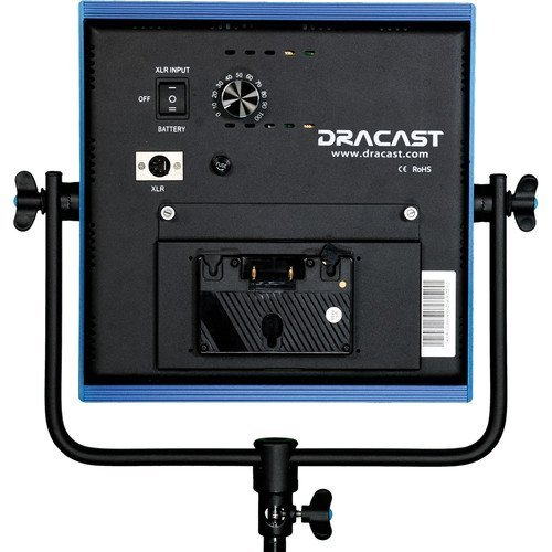 Dracast LED1000 Pro Daylight LED Light with Gold Mount Battery Plate