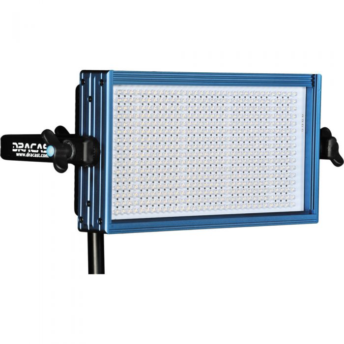 Dracast LED500 Pro Bi-Color LED Light with Gold Mount Battery Plate