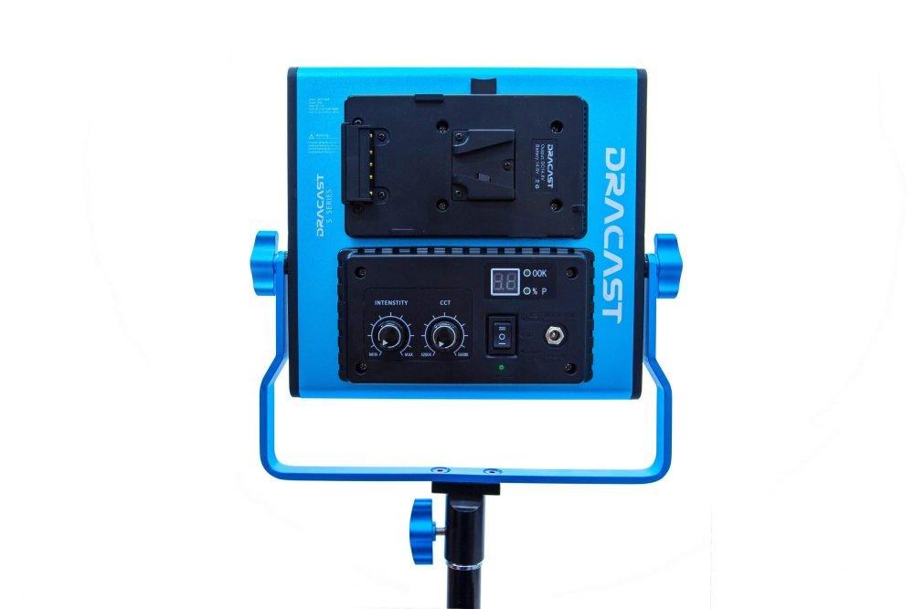 Dracast S-Series LED500 Bi-Color 3 Light Kit with V-Mount Battery Plates and Soft Case
