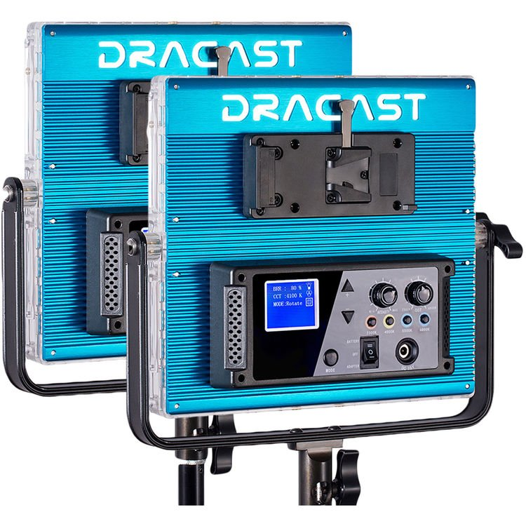 DRACAST 728 RGBW 2 LIGHT KIT 3