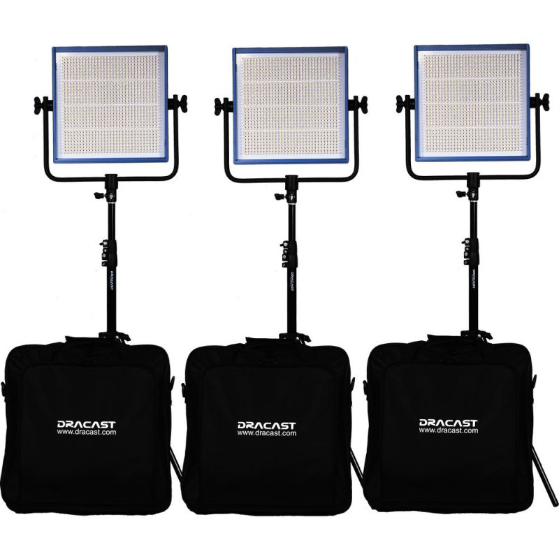 DRACAST LED1000 PRO 3 LIGHT KIT
