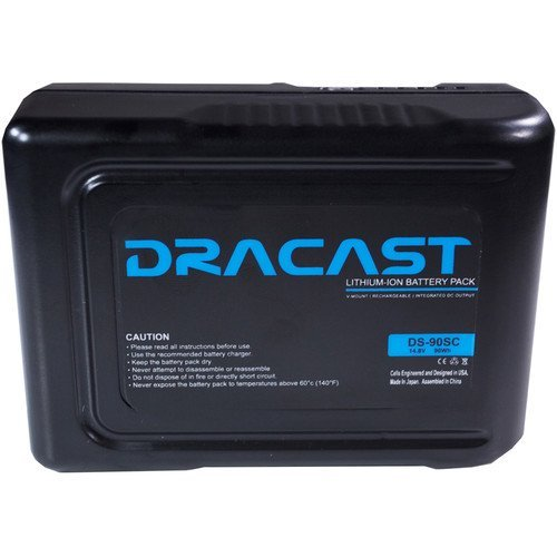 Dracast 90Wh Compact Li-Ion Battery (V-Mount)