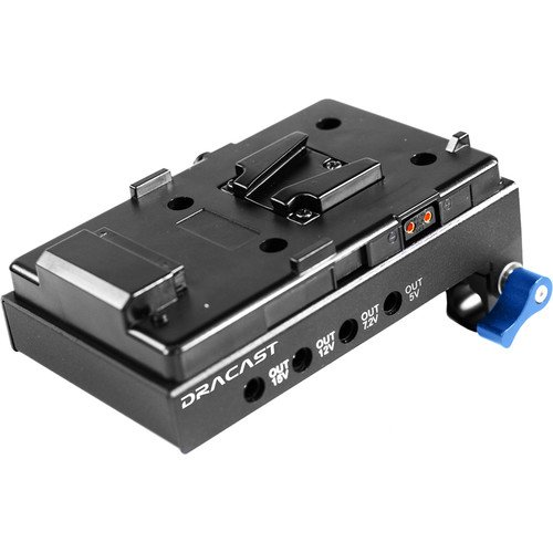 Dracast V-Mount Camera Battery Adapter with HDM