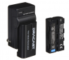 Dracast 1x NP-F 2200mAh Battery and 1 Charger Kit