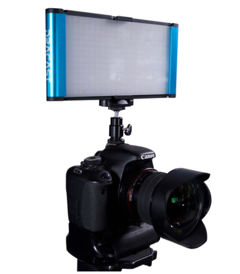 Dracast Camlux Pro Bi-Color On-Camera Light Kit