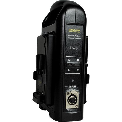 Dracast DR-CH2V Dual V-Mount Battery Charger