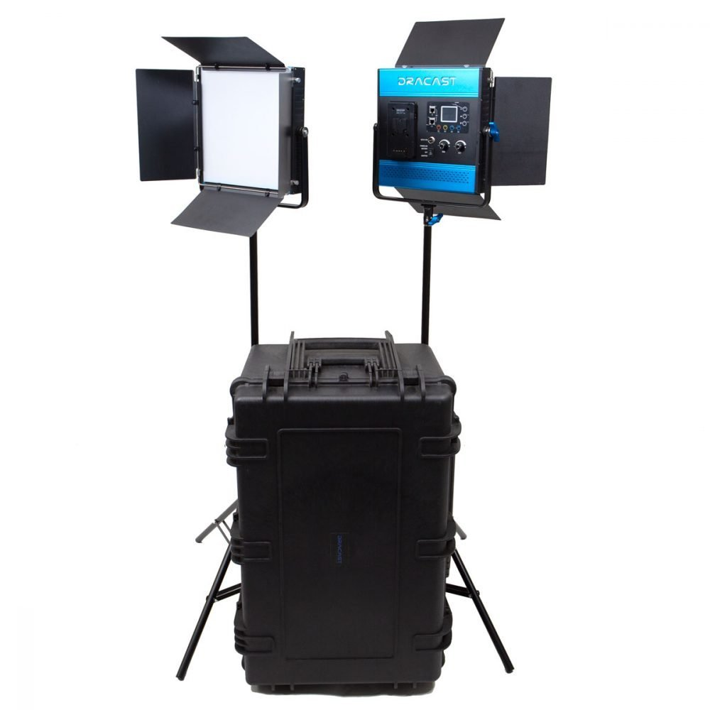 Dracast Kala Series Daylight LED1000 2 Light Kit