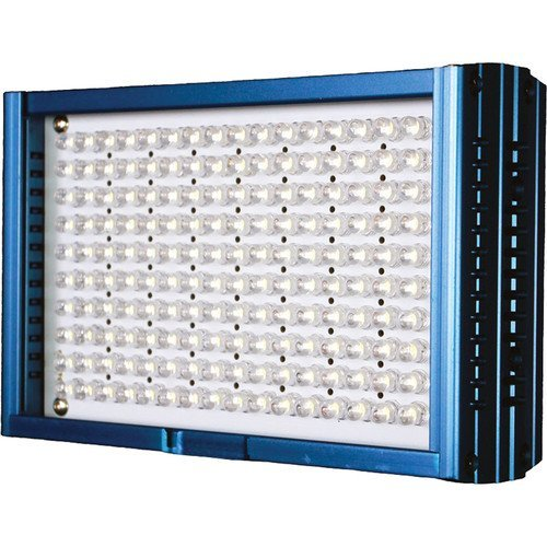 Dracast LED160 5600K Daylight On-Camera Light with Battery and Charger (Aluminum, Blue)