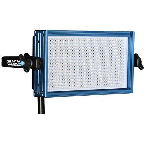 Dracast LED500 Pro Tungsten LED Light with V-Mount Battery Plate