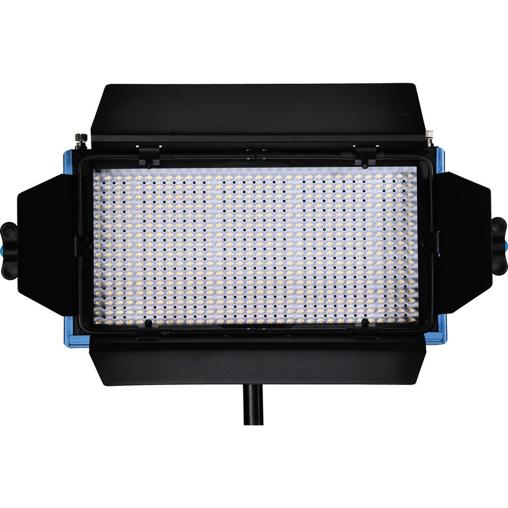 Dracast LED500 Pro Series Bi-Color 3 Light Kit with V-Mount Battery Plates and Light Stands