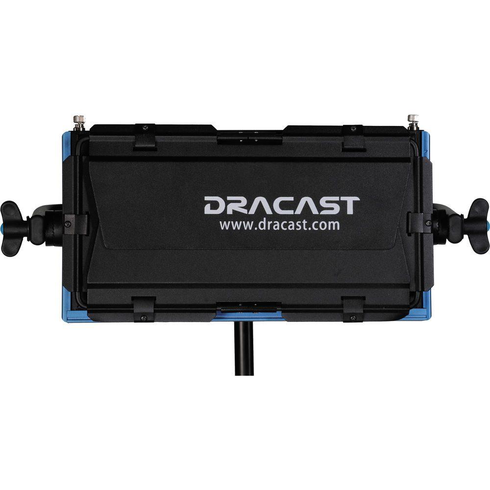 Dracast LED500 Pro Series Daylight 3 Light Kit with V-Mount Battery Plates and Light Stands
