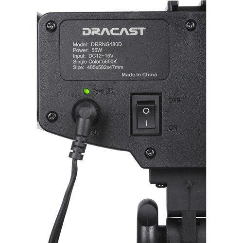 Dracast LED180 Halo Daylight Ring Light
