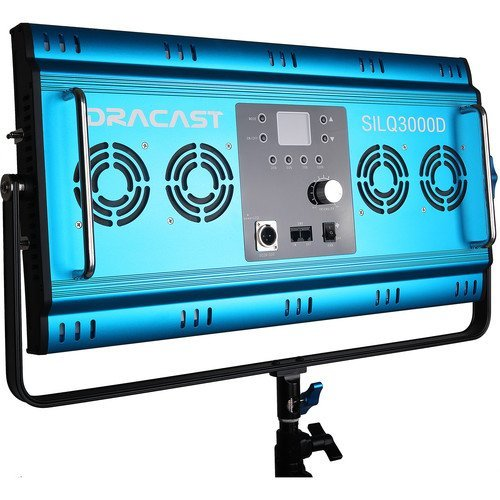 Dracast Silq Series LED3000 Daylight Panel Light