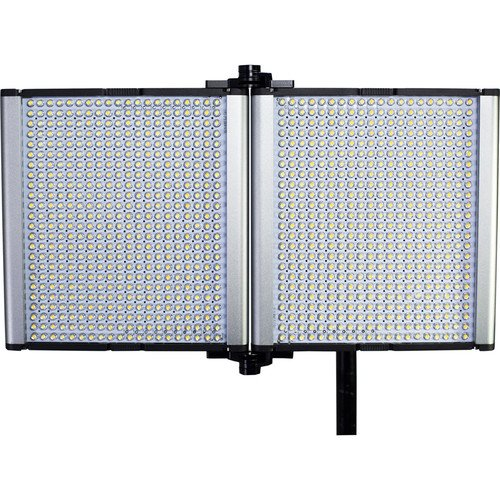 Dracast LED1000 Silver Series Foldable Daylight LED Light