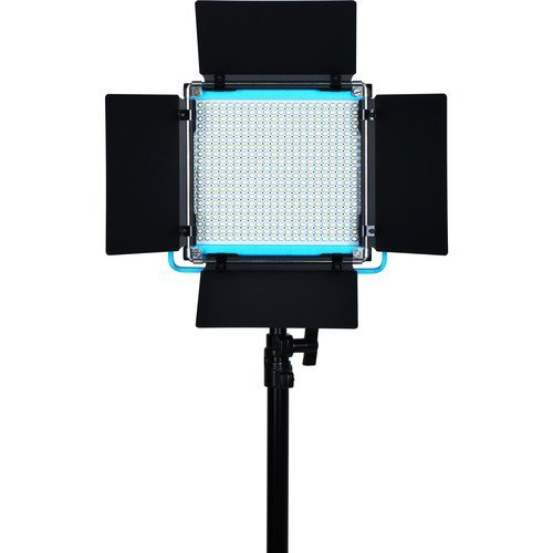 Dracast S-Series Plus LED500 Daylight LED 3-Light Kit with NP-F Battery Plates and Injection Molded Travel Case