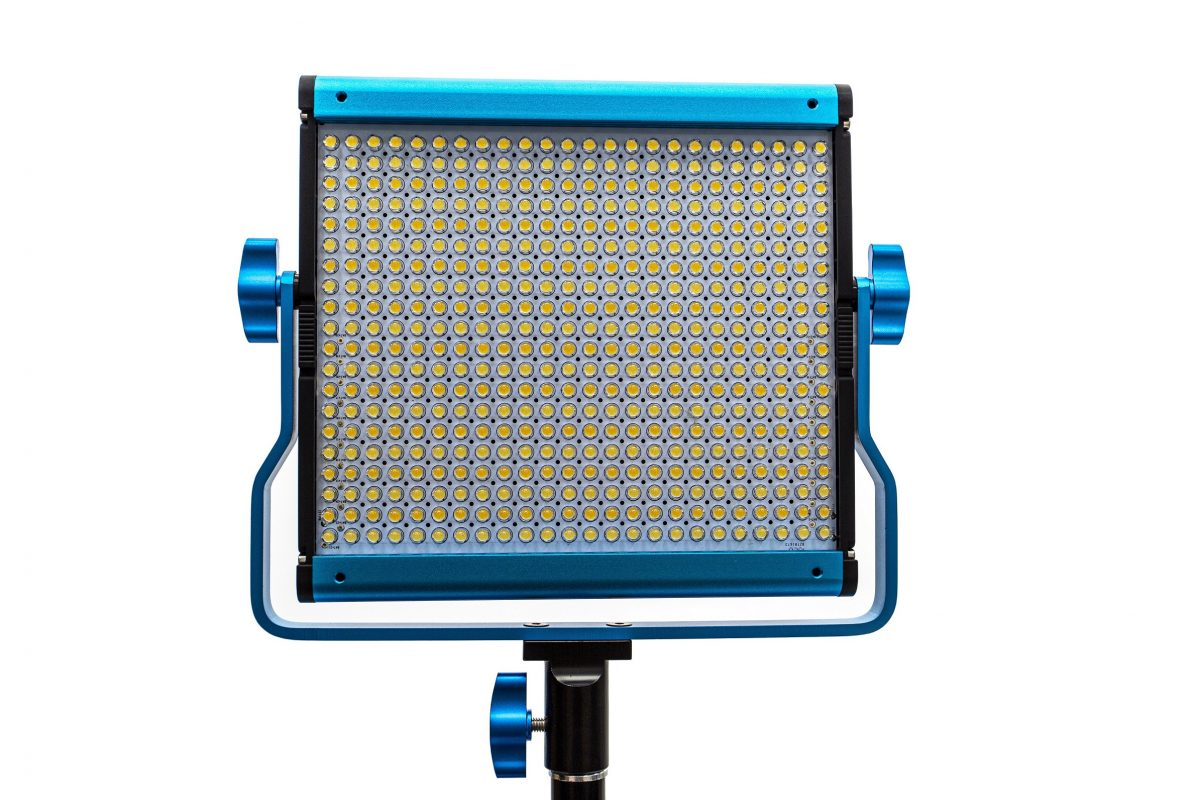 Dracast S-Series Plus Bi-Color LED500 Panel with V-Mount Battery Plate