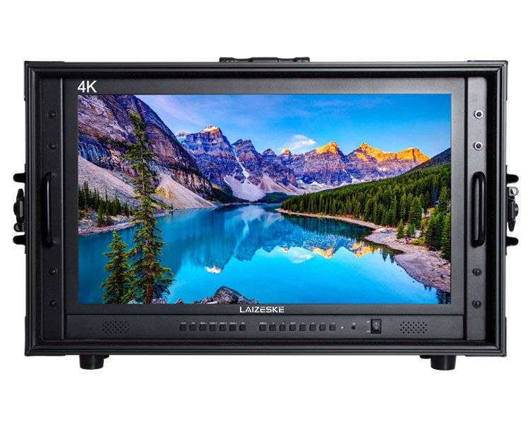 "Laizeske CO238S 23.8"" 4K Carry-On Production Monitor"