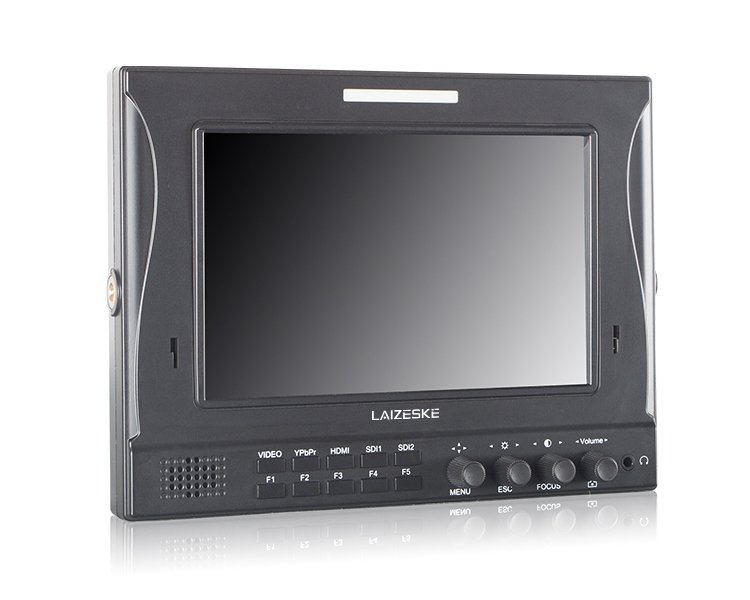 "Laizeske 7"" IPS 1280 x 800 3G-SDI Camera-Top Monitor"