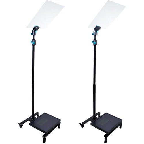 "MagiCue Stage Master Presidential Prompter Package with Hard Case (Pair, 17"" LCD)"