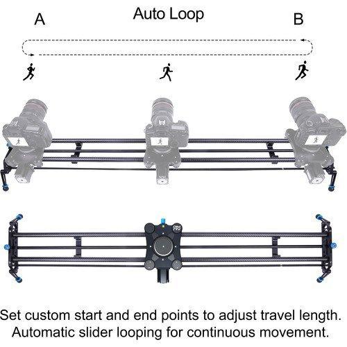"A&J PRO GP Motorized Carbon Fiber Camera Slider (47.2"")"