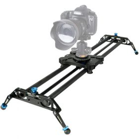 "A&J PRO Portable Parallax Camera Slider with Carbon Fiber Rail (31.5"")"