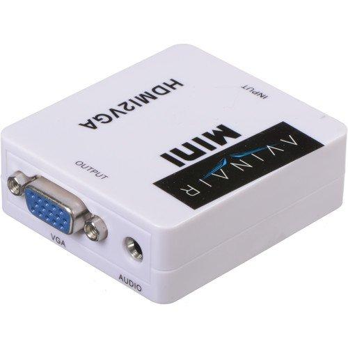 Avinair Spitfire Pro Mini HDMI to VGA Converter (Plastic Case)