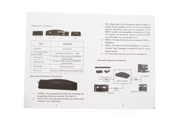 Avinair Spitfire Pro Composite to VGA Converter (Plastic Case)