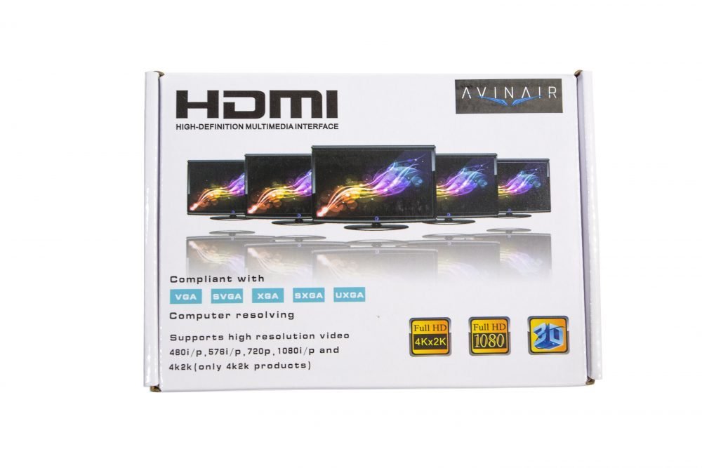 Avinair Spitfire Pro VGA to HDMI Converter (Metal Case)