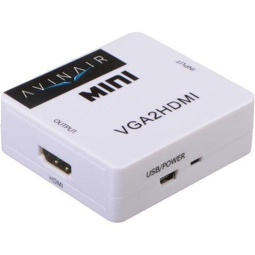 Avinair Spitfire Pro VGA to HDMI Mini Converter (Plastic Case)