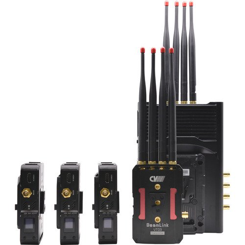 Crystal Video Technology BeamLink-Quad Four Transmitters to Single Receiver Video Transmission System
