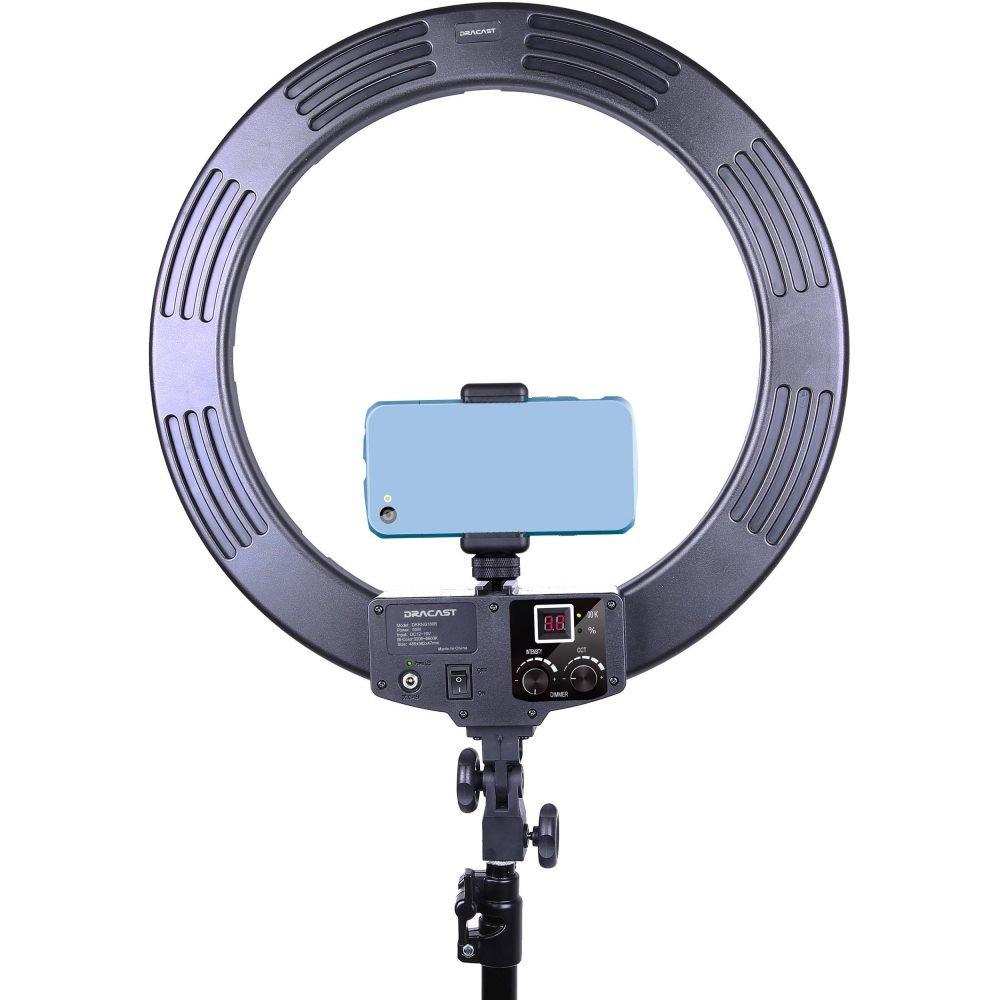 Dracast LED180 Halo Bi-Color Ringlight