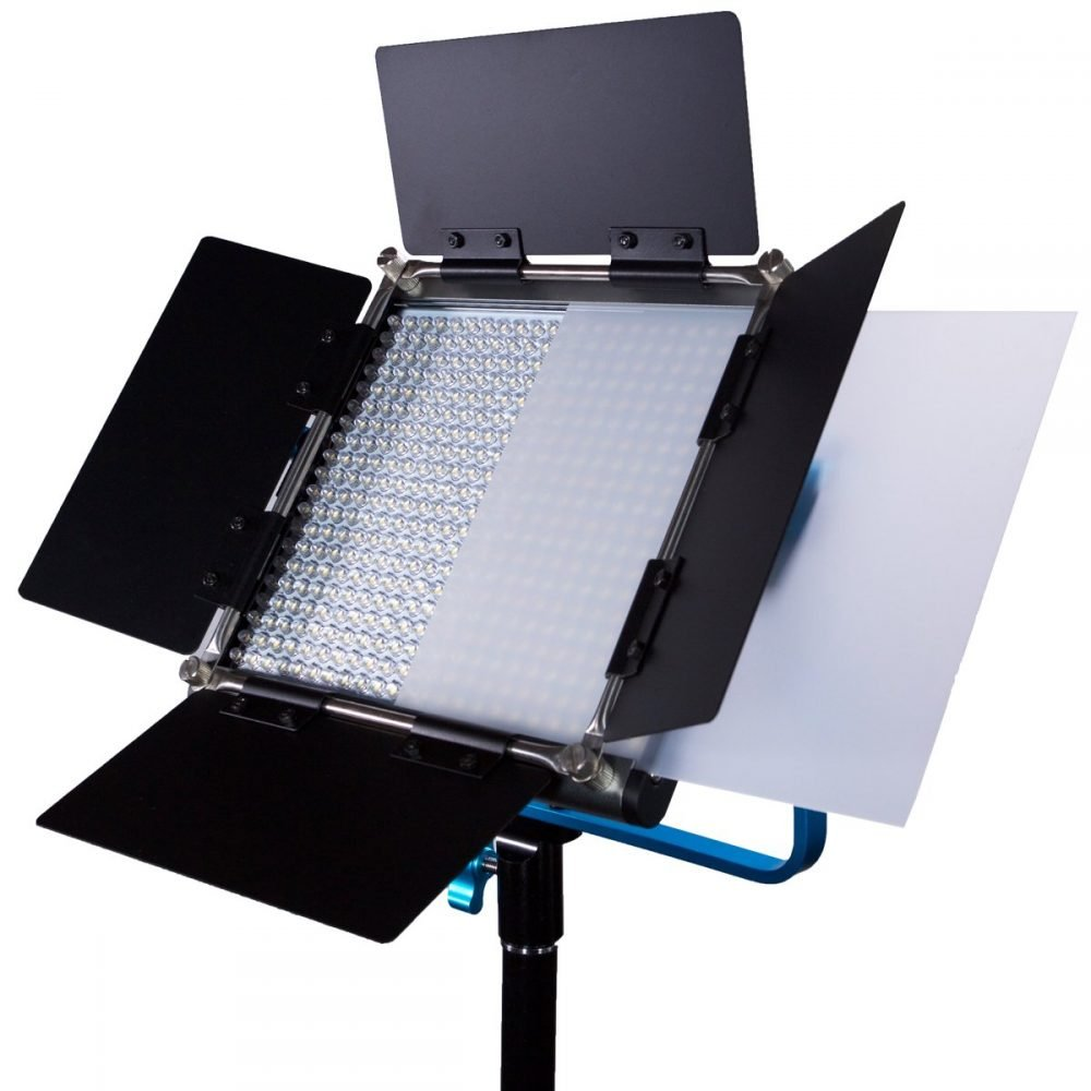 Dracast LED500 Silver-Series Bi-Color LED Light with Dual NP-F Battery Plate