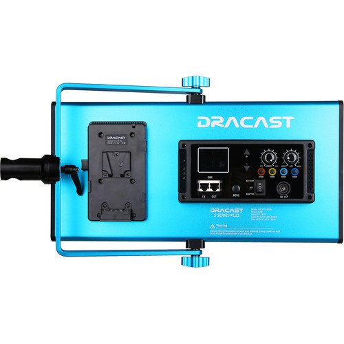 Dracast S-Series Plus Bi-Color LED1000 Panel with V-Mount Battery Plate