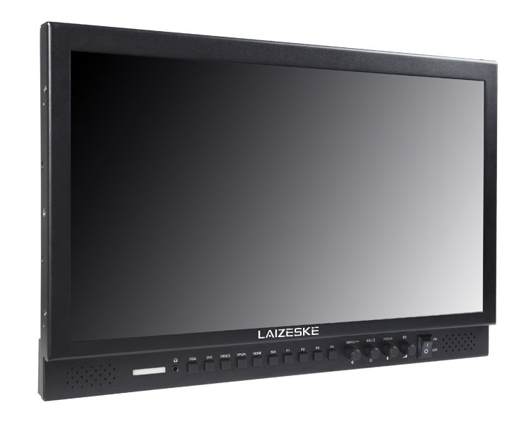 "Laizeske 17.3"" Full-HD Carry-On Broadcast Director Monitor with HDMI"