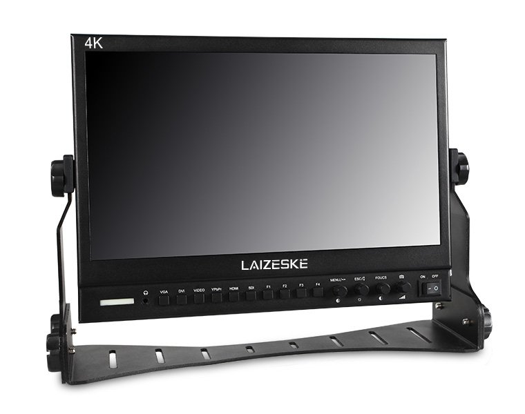 "Laizeske 13.3"" Full HD 3G-SDI/ HDMI IPS LED-Backlit Production Monitor"
