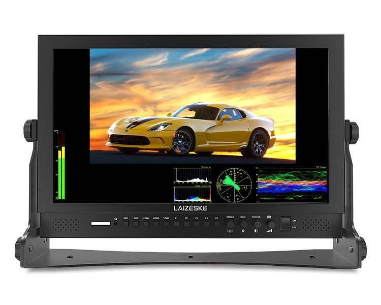 "Laizeske DR173DSW 17.3"" Full HD 3G-SDI/ HDMI LED-Backlit Production Monitor"