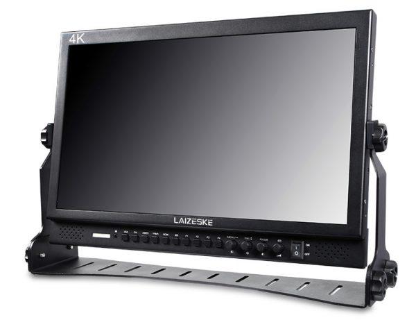 "Laizeske DR173S 17.3"" Full HD LED-Backlit Multiformat Pro Broadcast LCD Monitor"