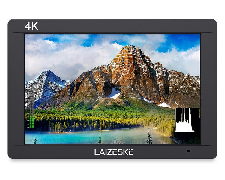 "Laizeske DR703 7"" On-Camera SDI/HDMI Monitor"
