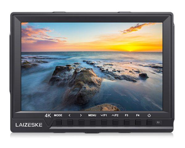 "Laizeske 7"" 4K HDMI Full HD IPS On-Camera Monitor"
