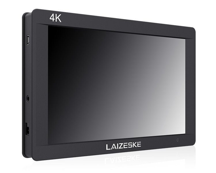 "Laizeske 7"" 3G-SDI 4K HDMI On-Camera Monitor"
