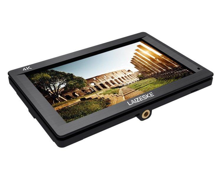"Laizeske 7"" 4K HDMI On-Camera IPS Monitor"
