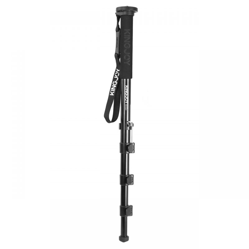 Kingjoy MP-208F Four-Section Telescoping Monopod with Flip-Lock