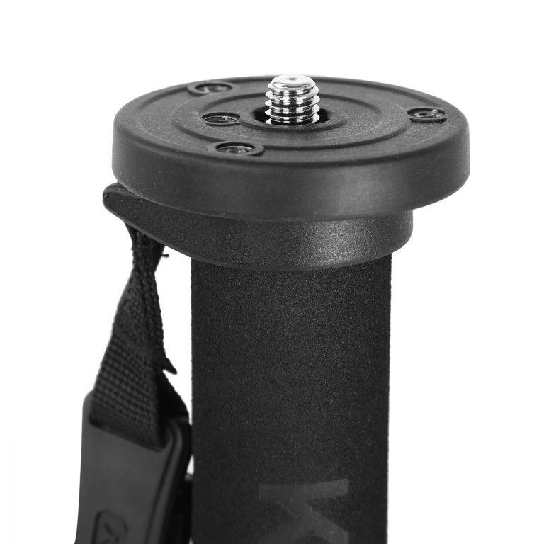 Kingjoy MP-208F Four-Section Telescoping Monopod with Flip-Lock