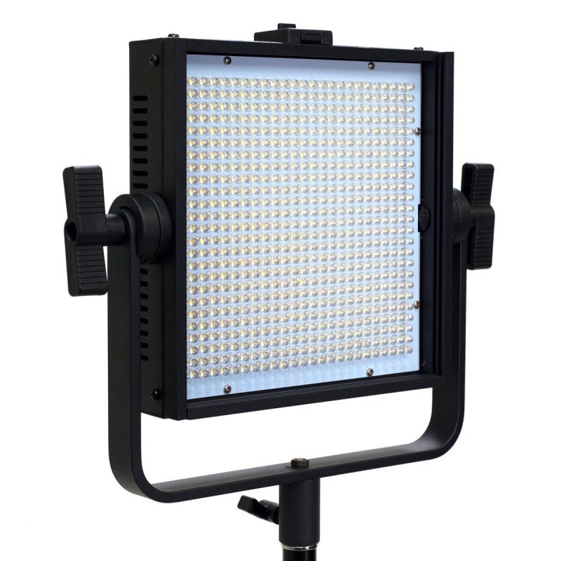 Axrtec AXR-A-600BV LED Video Panel Light (Black)