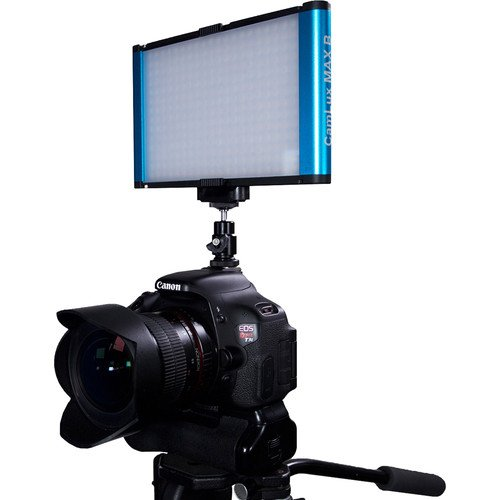 Dracast Camlux Series Max Bi-Color On-Camera Light with Battery and Charger
