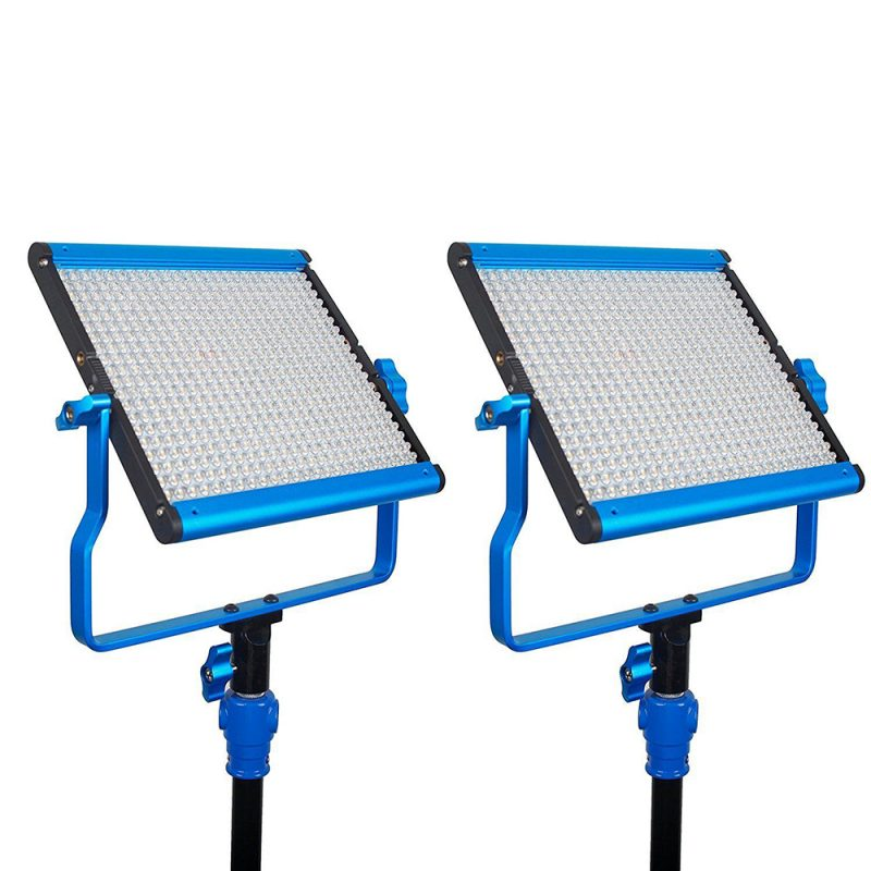 Dracast S-Series LED500 Bi-Color 2-LIGHT KIT with NPF Battery Plates
