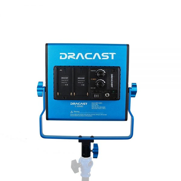 Dracast S-Series LED500 Bi-Color 3-Light Kit with NPF Battery Plates