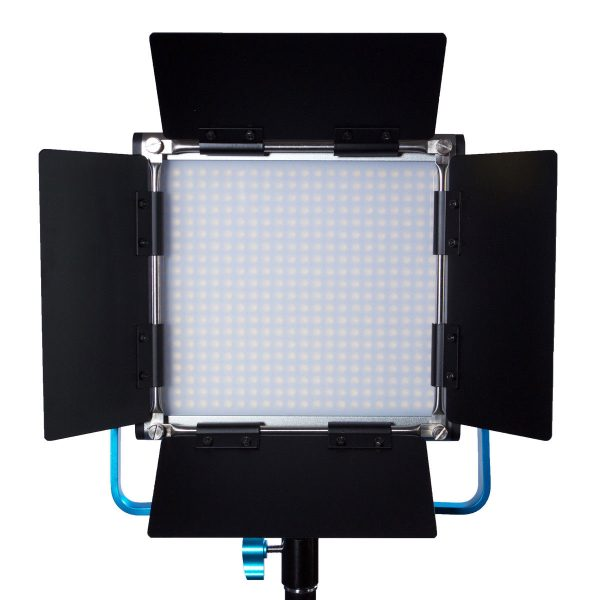 Dracast DRL500SBNC4LK Bicolor LED500 Video Panel 4-Light Kit with NP-F Battery Plates