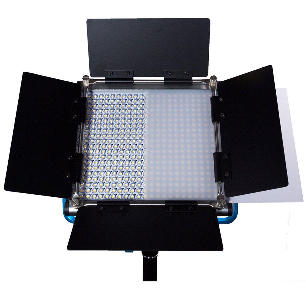 Dracast S-Series LED500 Bi-Color 2-LIGHT KIT with V-Mount Battery Plates