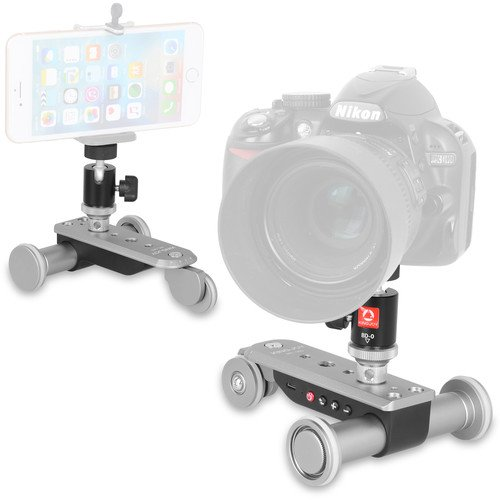 Draco Broadcast AFi 3-Wheel Auto Dolly for Cameras & Smartphones